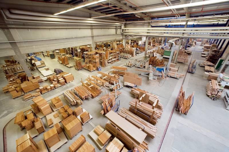 Современное производство мебели