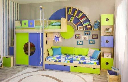 Правильная мебель для детской комнаты